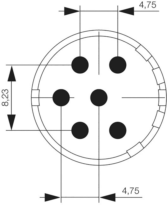 Konektorová vložka, zásuvka Weidmüller 1224010000, 1 ks