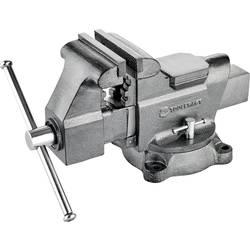 Natáčecí svěrák s montáž. svorkou s otočným talířem TOOLCRAFT TO-5342457, Rozpětí (max.): 150 mm