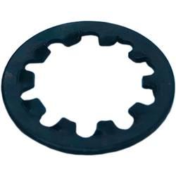 Upevňovací matice černá OMEG ZAHNSCHEIBE-M10-OMEG-BK 1 ks