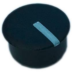 Krytka knoflíku Vhodné pro kulaté tlačítko 13 mm PSP C130-1 13 mm, černá, bílá, 1 ks