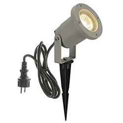 LED, halogénová žiarovka SLV Doran 10 1002513, GU10, 35 W, striebornosivá