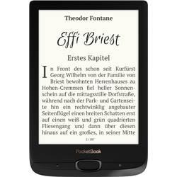 Čtečka e-knih PocketBook Basic Lux 2, 15.2 cm (6.0 palec)černá, stříbrná