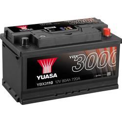 Autobaterie Yuasa SMF YBX3110, 12 V, 80 Ah, T1 N/A