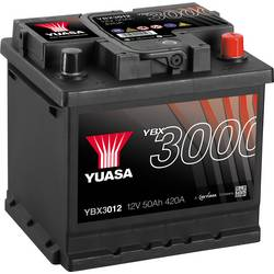 Autobaterie Yuasa SMF YBX3012, 50 Ah, T1 N/A