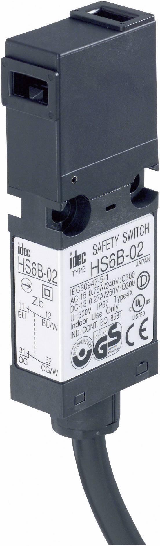 Bezpečnostný spínač Idec HS6B-11B01, 250 V/AC, 3 A