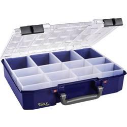 Kufřík na součástky raaco, CarryLite 80 4x8-12, 144551, přihrádek: 12, modrá