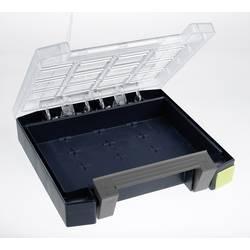 Kufřík na součástky raaco, Boxxser 55 4x4-0, 138260, přihrádek: 0, 241 x 55 x 225, modrá