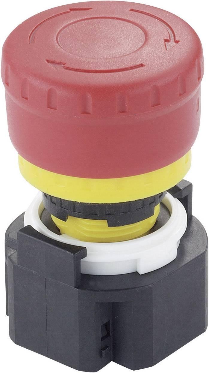 Núdzový vypínač Idec XA1E-BV313R, 250 V/AC, 3 A