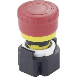 Nouzový vypínač Idec XA1E-BV313R, 250 V/AC, 3 A