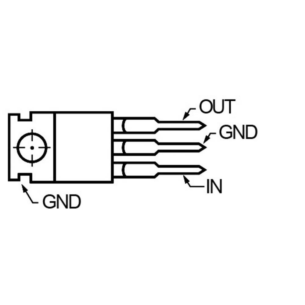 Stabilizátor napětí STMicroelectronics 78S18, 2 A, kladný