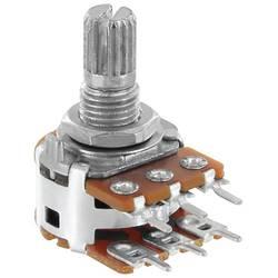 Otočný potenciometr Stereo Alpha RV16A01F20KA100KM RV16A01F20KA100KM, 0.05 W, 100 KΩ, 1 ks