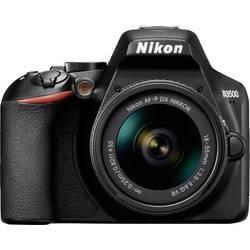 Digitální zrcadlovka Nikon D3500 Kit #####AF-P 18-55 mm VR 24.2 MPix černá Bluetooth, Full HD videozáznam