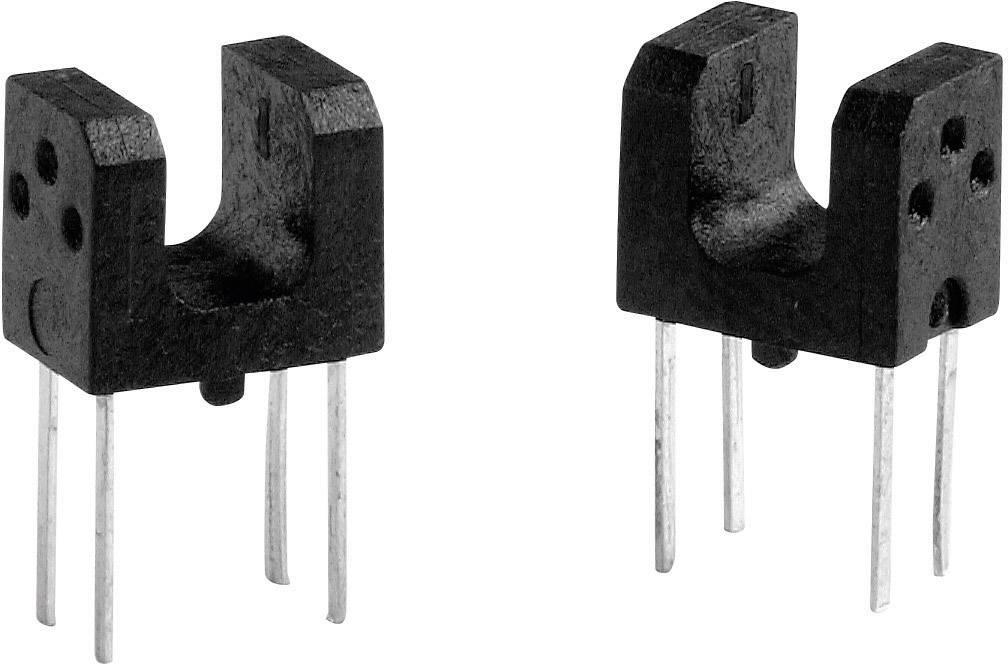 Miniaturní optický senzor do DPS Omron EE-SX1106, 3 mm
