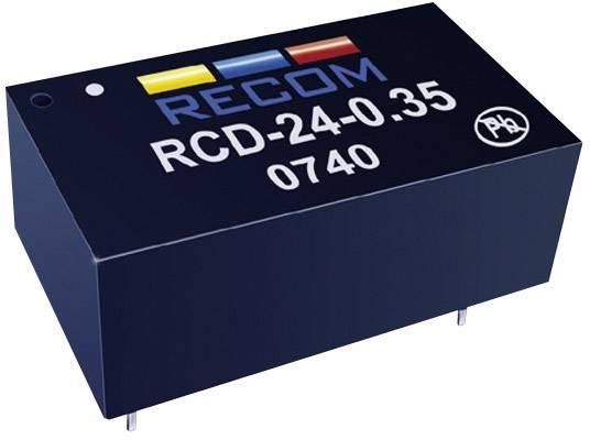 LED driver Recom Lighting, RCD-24-0.35, 36 V/DC, 350 mA
