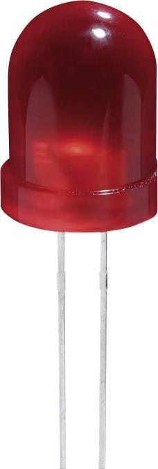 LED dioda s vývody Kingbright JUMBO-LED GELB 8MM, L-793YD, 20 mA, 8 mm, 2,1 V, 60 °, 3 mcd, žlutá
