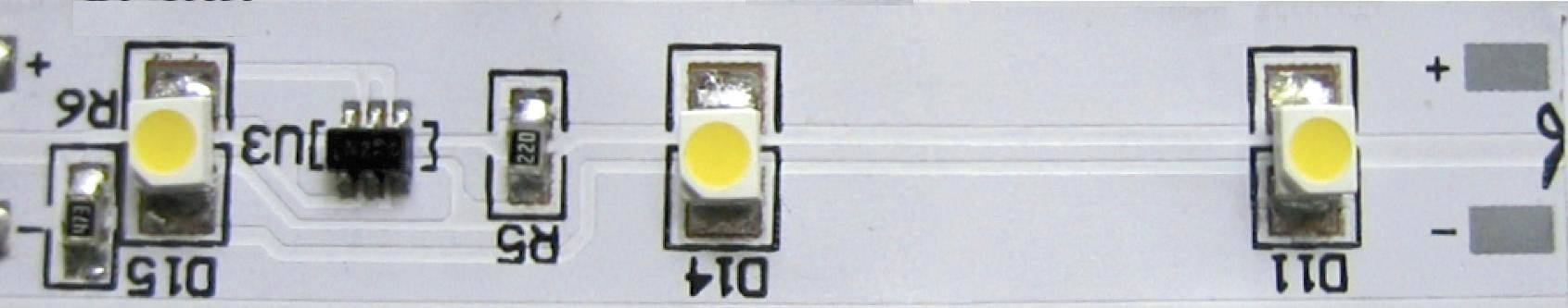 LED pás ohebný samolepicí 12VDC ledxon LED STRIPE 12VDC ROT, 9009044, 50 mm, červená