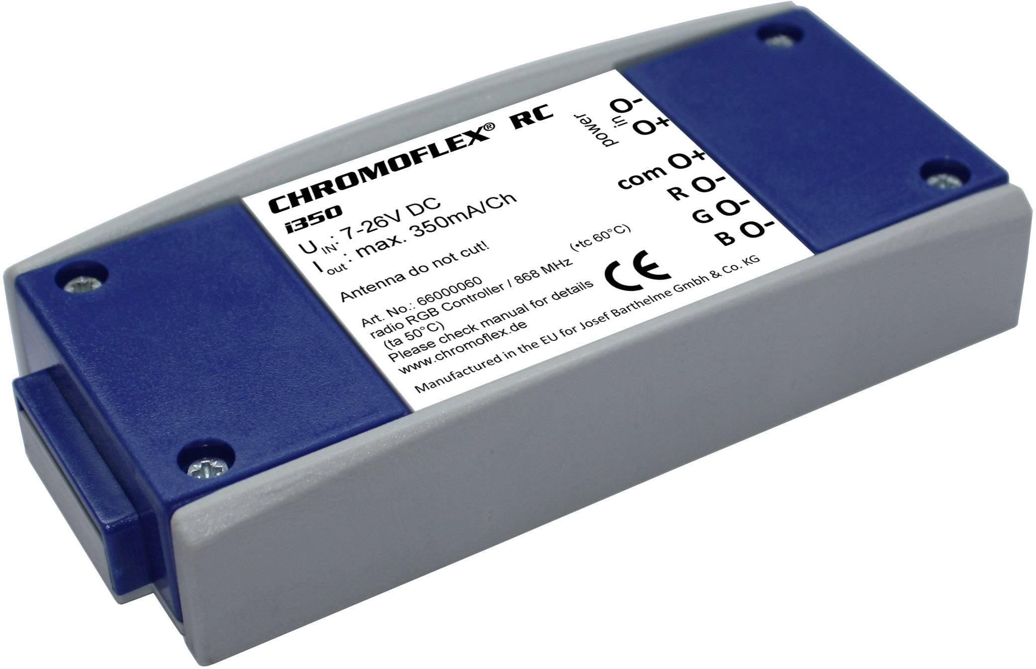 RGB LED řídící jednotka Barthelme Chromoflex RGB III RC I350, 66000060, 7 - 26 V/DC