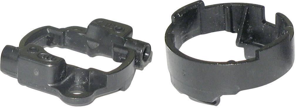 LED kontaktní prvek pro LED Luxeon K2, černá
