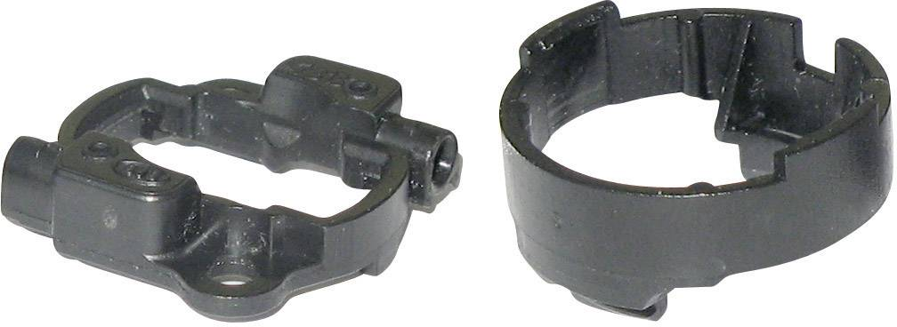 Připojovací adaptér pro LED Luxeon III, Luxeon V, 63400044, černá