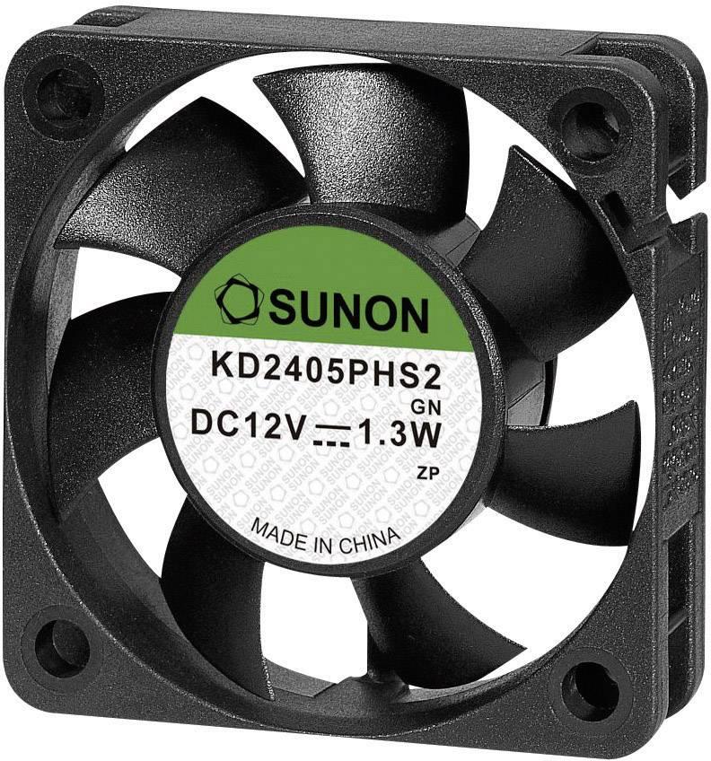 Axiálny ventilátor Sunon KD 2405PHS2.GN KD 2405 PHS2.GN RoHs, 24 V/DC, 29 dB, (d x š x v) 50 x 50 x 15 mm