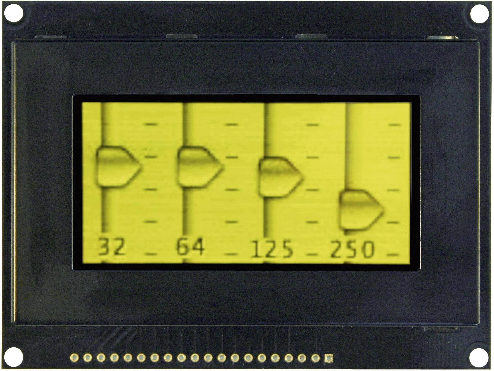 OLED displej VGY12864Z-S003 VGY12864Z-S003, (š x v x h) 93 x 70 x 9.1 mm, žltá, čierna