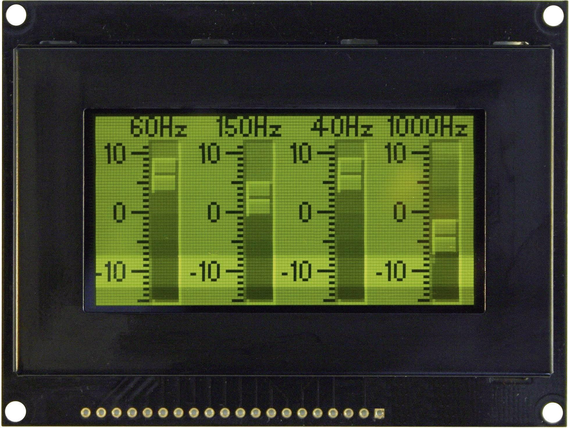 OLED displej VGG12864Z-S003 VGG12864Z-S003, (š x v x h) 93 x 70 x 9.1 mm, zelená, čierna
