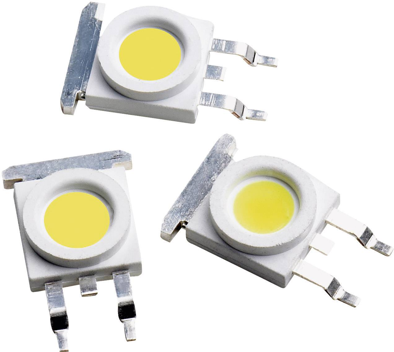 HighPower LED Broadcom 1 W, 105 lm, 3.2 V, 350 mA, chladná biela
