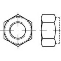 Šestihranné matice TOOLCRAFT TO-5430009, M10, N/A, ocel, 100 ks