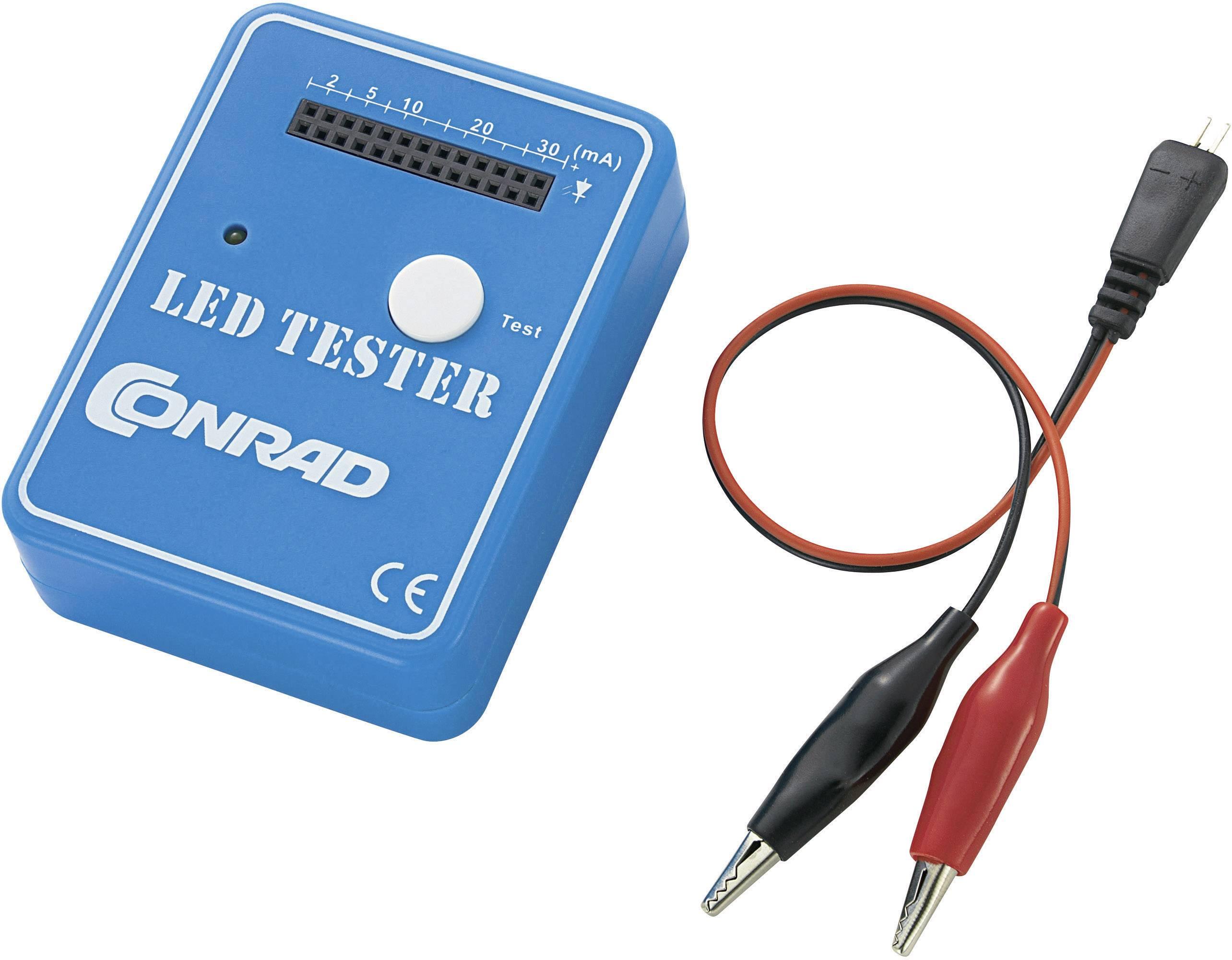 Tester LED Conrad SMD, 9 V/DC
