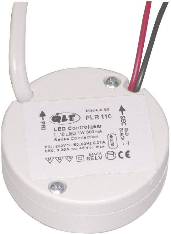 LED menič QLT PLR 110, prevádzkové napätie (max.) 230 V/AC