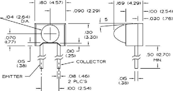 Fototranzistor SDP8436-003