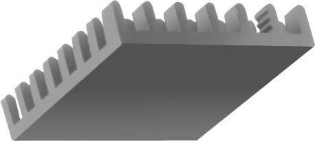 Chladič Fischer Elektronik ICK BGA 27 X 27 X 10 10037030, 18.5 K/W, (d x š x v) 27 x 27 x 10 mm