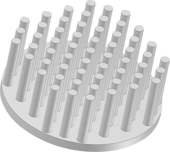 Chladič s pinmi Fischer Elektronik ICK S R 50 x 20 10006891, 8.55 K/W, (Ø x v) 50 mm x 20 mm