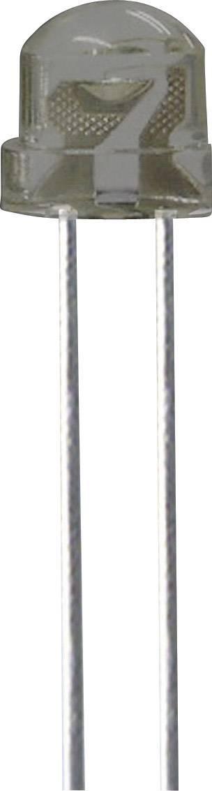 LEDsvývodmi Kingbright L-9294PBC-A, typ čočky guľatý, 5 mm, 130 °, 30 mA, 180 mcd, 3.2 V, modrá