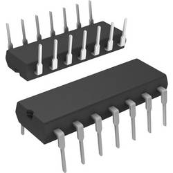 Logický IO - čítač SN74LS393N, 74LS, 35 MHz, 5.25 VDIP-14