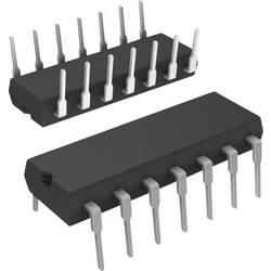 Logický IO - čítač SN74LS92N, binárne čítač, delenie 12, 74LS, kladná hrana, 42 MHz, 5.25 VDIP-14