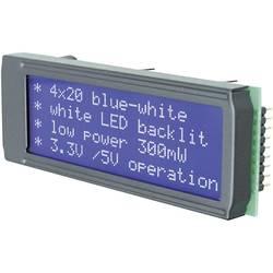 LED modul EADIP203B-4NLW, DIP204B-4NLW, 3.75 mm