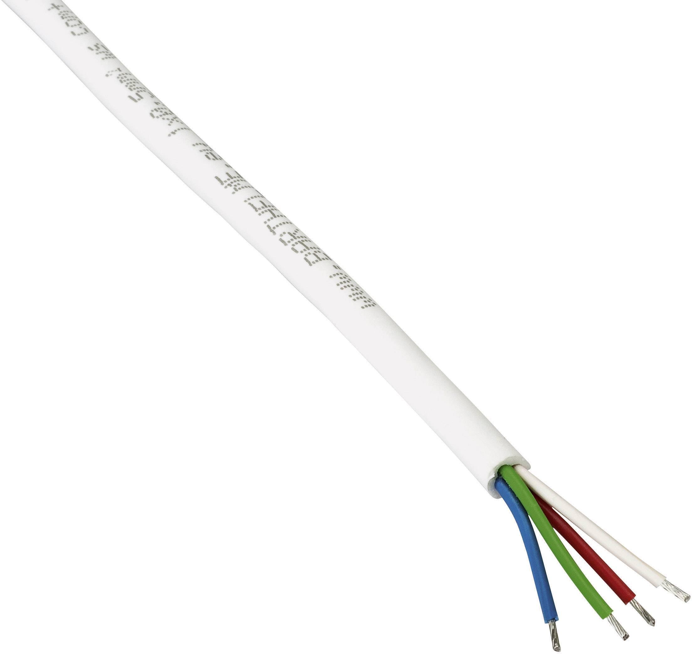 Připojovací kabel, 66100024, 5 mm, bílá