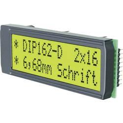 LCD displej EADIP162-DNLED, DIP162-DNLED, 6.68 mm