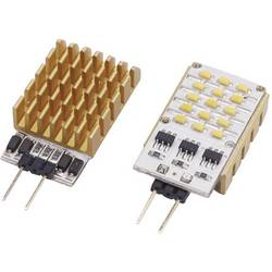 HighPower LED-modul ledxon 9000135, 120 °, 150 lm, 2 W, 12 V/DC, 12 V/AC, chladná biela