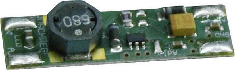 Zdroj konstantního I pro LED, typ mini KSQ-1W, 8 - 30 V/DC, 350 mA