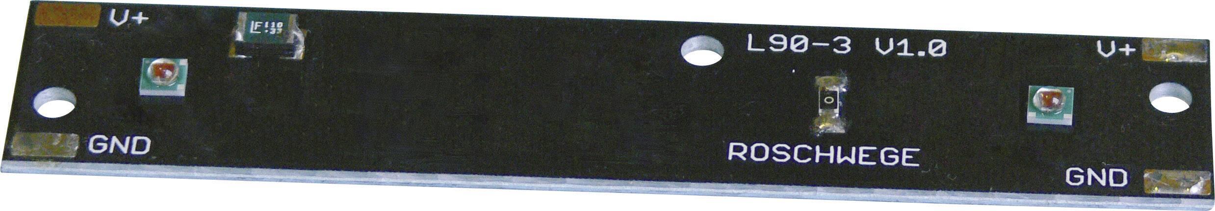 HighPower LED-lišta Roschwege 188 lm, teplá biela