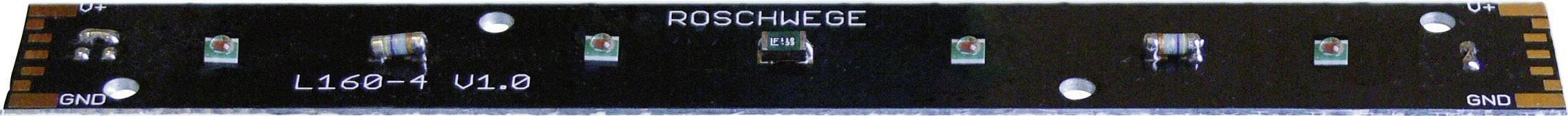 HighPower LED-lišta Roschwege 376 lm, teplá biela