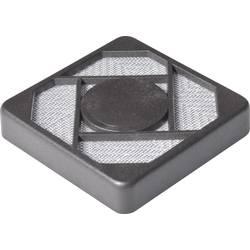 Vetracia mriežka s filtračnou vložkou Richco;RCP-040-T, (š x v x h) 40 x 40 x 4.3 mm, 1 ks