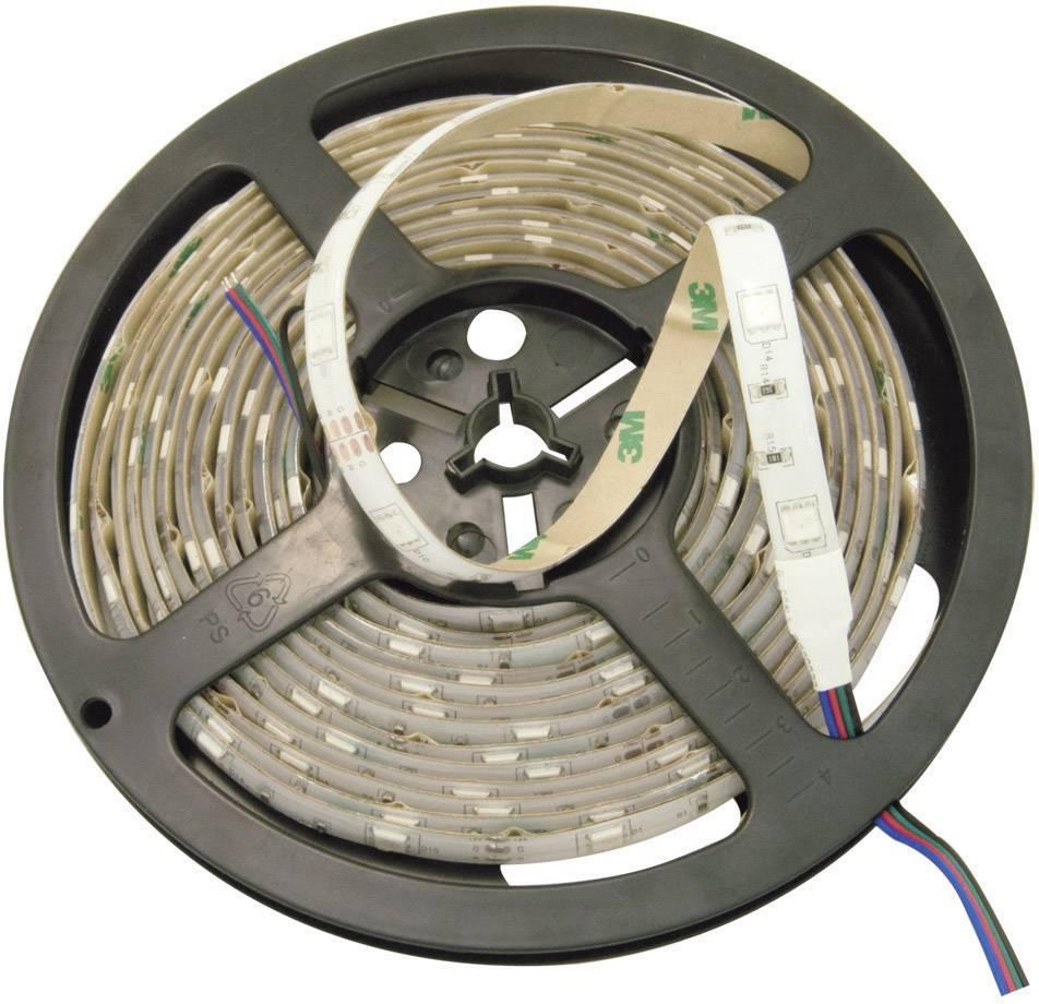 LED pás ohebný samolepicí 24VDC 51516411, 51516411, 5020 mm, červená