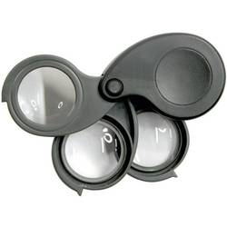 Elektronická lupa s 3 čočkami a 5/10/15násobným zvětšením TRU COMPONENTS Magnifier5.10.15x