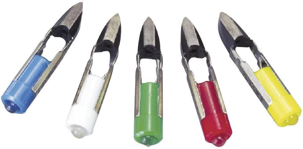 LEDžiarovka Barthelme 70112340, T5.5, 24 V/DC, 24 V/AC, 2.1 lm, zelená