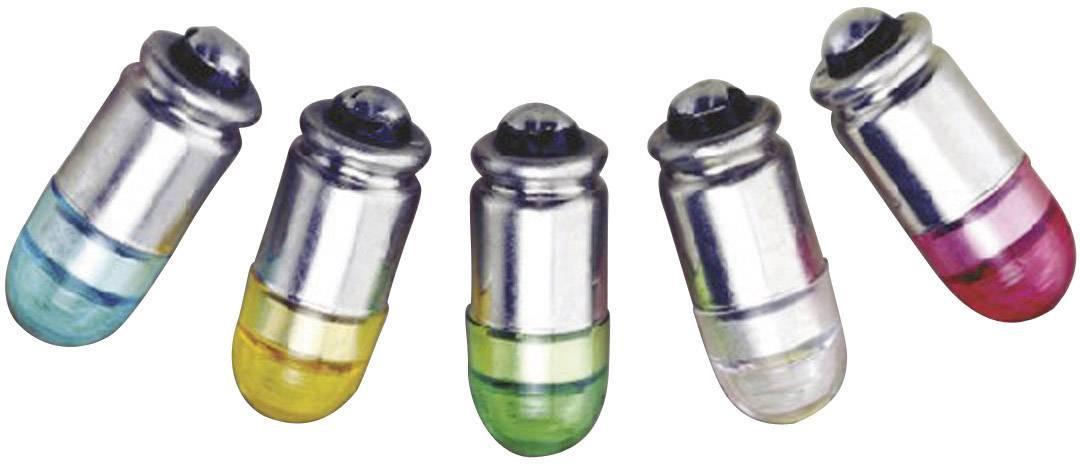 LEDžiarovka Barthelme 70112434, S4s, 12 V/DC, 12 V/AC, 0.3 lm, jantárová