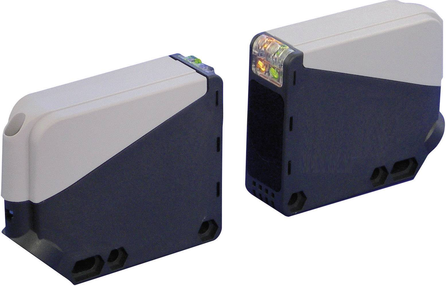Jednocestná optická závora Idec SA1U-T50M, dosah 50 m, relé 250 V/AC/30 V/DC, 3 A, IP67