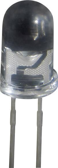 LEDsvývodmi Kingbright GL 5 R, GL 5 R, typ šošovky guľatý, 5 mm, červená